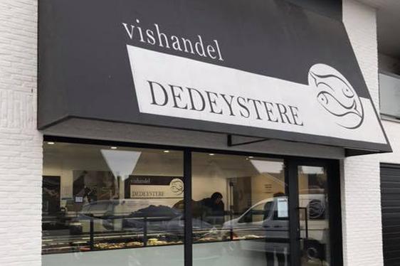 vishandel Dedeystere winkel Kachtem (Izegem)