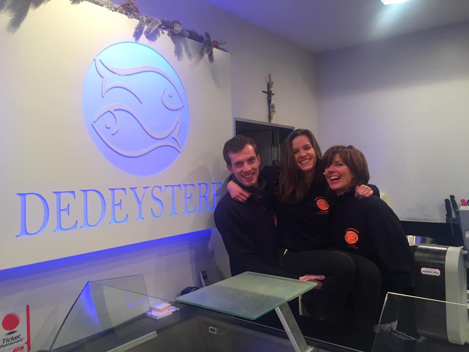 Team van vishandel Dedeystere